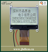 lcd display module for industrial control and other mahines JHD12864-G143BSW-G