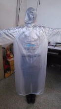 PVC /pe polyester Material and Raincoats Type PVC/pe rain poncho