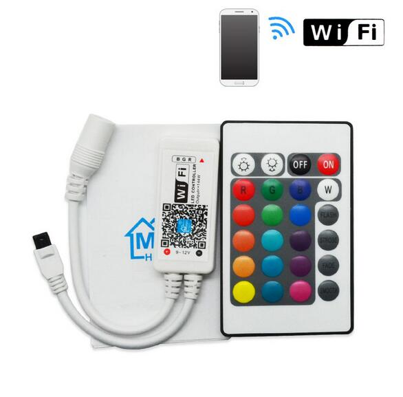 Wifi RGB/ RGBW led strip controller magic home wifi led controller with factory price