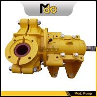 Horizontal reciprocating triplex plunger pump