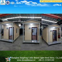 china supplier cheap modular prefab container homes/ tiny houses mobile with aisle