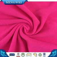 100% polyester knitted polar fleece plain dyed and printed bonded fabric