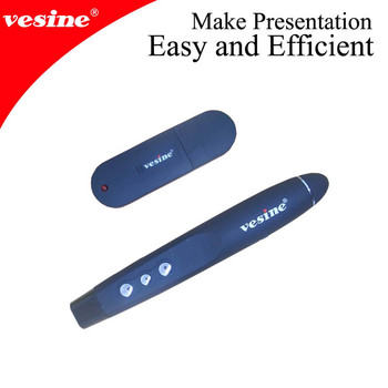Vesine Red Laser Pointer Wireless Presenter Remote Controler VP101
