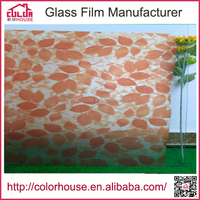 colourful soft self-adhesive vinyl film plastic film with glue