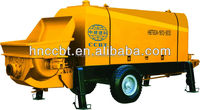 diesel engine stationary electric trailer concrete pump of HBT80.13.140RS