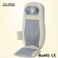 Portable Shiatsu Infrared Heating Backrest Electric Massage Chair Equipment