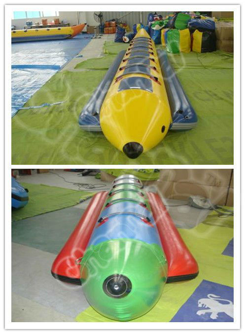 Inflatable Water Game Banana Boat Inflatable Water Toy