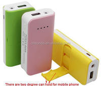 Wholesale factory for 5V/1A 5V/2A output power bank from shenzhen