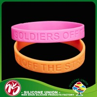 Sport item full colour silicone gifts china wristband