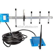 WCDMA 2100MHz Signal Booster / 3G Signal Repeater with Yagi Antenna