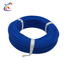 Fiberglass wick cable insulation temperature rating 6mm silicone heat resistance wire