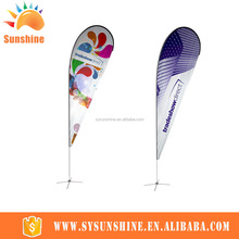 NO MOQ custom printing China made promotionl flag and banner