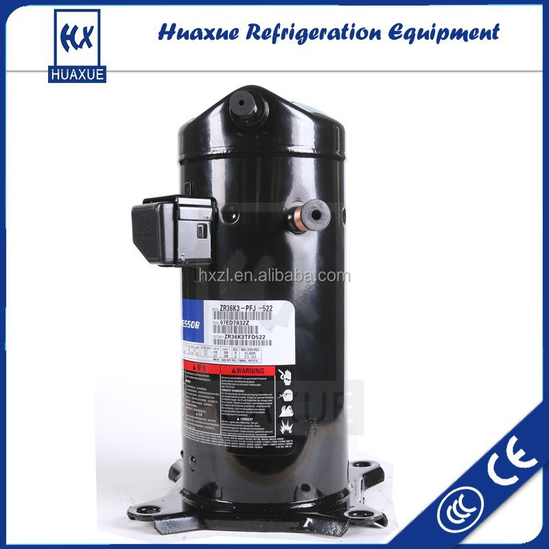 high quality three phase air conditioner compressor copeland ZR34KC-TFD-522 from China