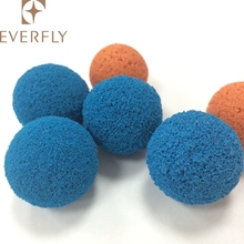 High quality condenser tube cleaning pipe cleaniing sponge rubber ball