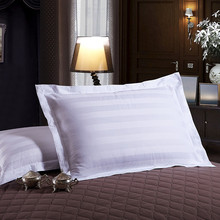 100% cotton nursing bed pillows inner with white pillow cases