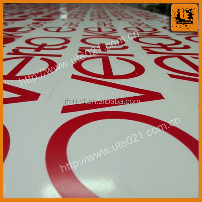 Custom Printed Vinyl Lettering Sticker Self Adhesive Car
