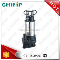 CHIMP V1500Q sewage submersible single phase motor water pump