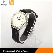 Wholesale Image Custom Made Silicone Quartz Gold Watch Accept Paypal