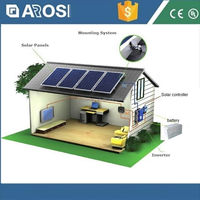 Advanced technology 48V 2kw solar energy system lion power battery
