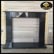 Black Granite Fireplaces Surrounds