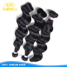 Real virgin remy human hair cheap beauty elements hair