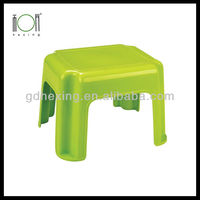 Cheap Rectangle Plastic Plastic Chair Stools