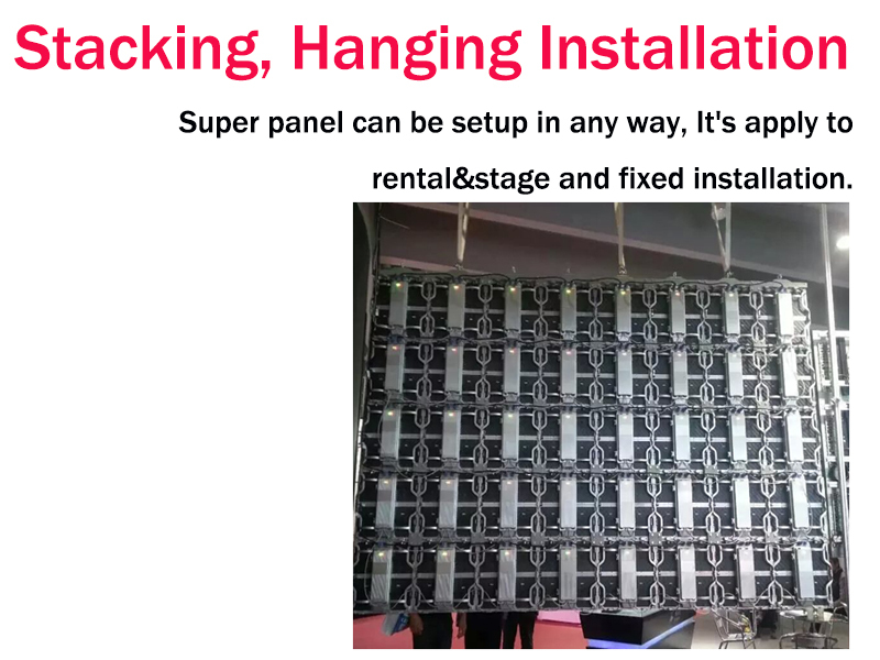 Super definition and high quality p3.91mm indoor showroom video led display