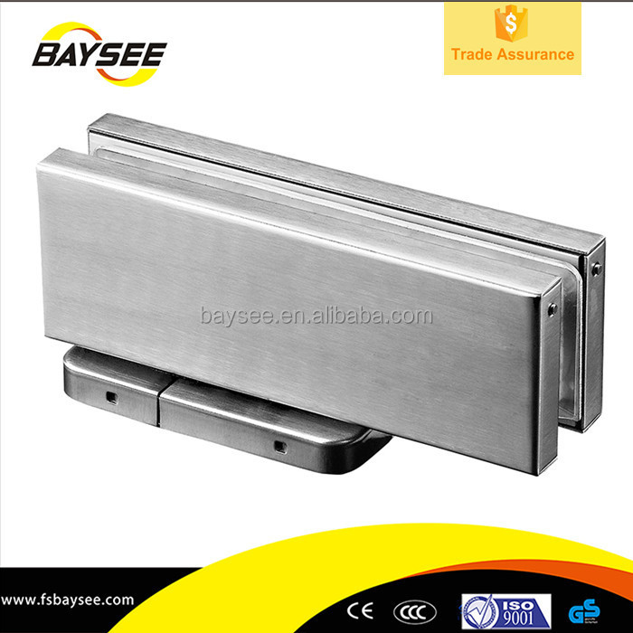 Glass Door Accessories Floor Closer With Patch Fittings for Tempered Glass Doors