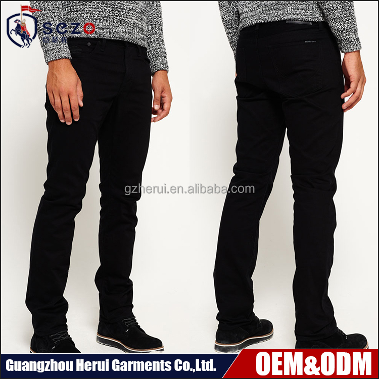 2016 Hot Sale Fashion Slim Fitted Jeans Pants Pent New Model Men Skinny Denim Jeans Trousers