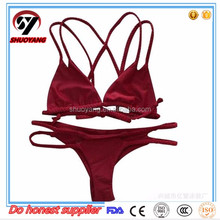 High quality ladies Sexy bikini swimming wear