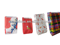 Good quality kraft paper package bag fried chicken bag