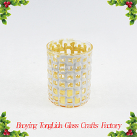Wholesale bulk glass votive candle holders