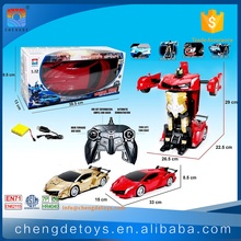 1:12 Transform RC Car Toy For Children Transformable Robot Car RC Toy With EN71