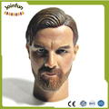 custom unpainted plastic toy head sculpt for 12 inch figure ,custom sculpture plastic figures head for action figures