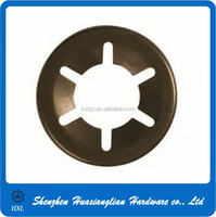 China push nut bearing clip /retainer washer many types of steel metal retaining ring