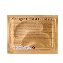 Pure 24K Gold crystal collagen eye mask anti-aging forever living products cool gel eyes cover relaxing