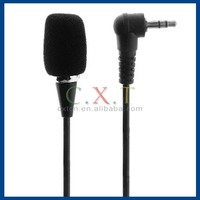3.5mm Jack Stereo microphone Mini Flexible Neck Microphone Mic For PC Laptop MSN Skype Notebook Black