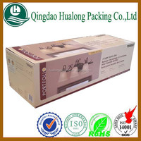offset glossy lamination paper box printing for wholesale