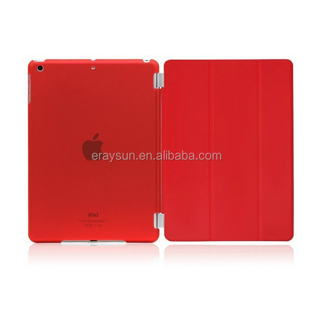 For NEW iPad Air 2 Ultra Slim Magnetic Smart transparent Case