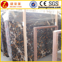 good price Afghanistan nero portoro marble slab