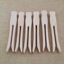 High quality custom handmade wooden pegs Wooden clothes pegs Natural wood paper pegs