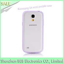 Popular for samsung s4 mini case from gold manufacture
