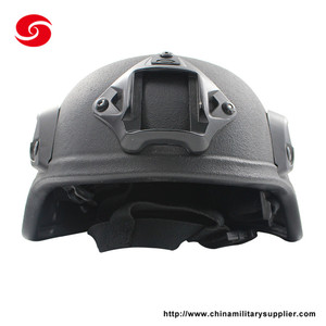 2018 hot new products black kevlar military tactical helmet for sale