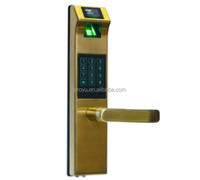 Biometric Electronic Door Lock Smart Fingerprint, Code, Card, Key Touch Screen Digital Keypad Password Lock