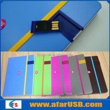 Private mold with patent, Factory directly sale colorful 4gb 8gb 16gb notebook usb flash memory stick with notebook