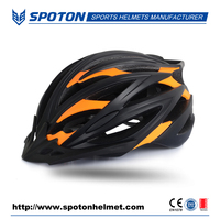 custom innovative in-mold cycling bicycle helmet with visors