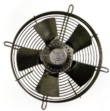 CF series 250mm AC axial flow fan with external rotor motor