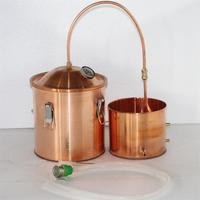 Copper Alembic Alcohol Still Kit 5gal Pot