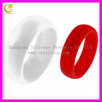 2016 HOT selling flexible fashion gothic engagement rings, Amazon popular factory silicone wedding band for sports, parties