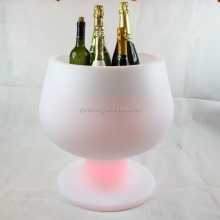 Red wine glass ice bucket